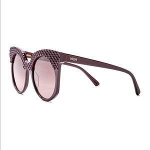 MCM Cat Eye 52mm Acetate Frame Sunglasses Designer